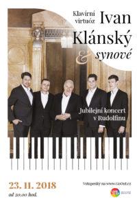 Koncert Ivan Klánský a synové